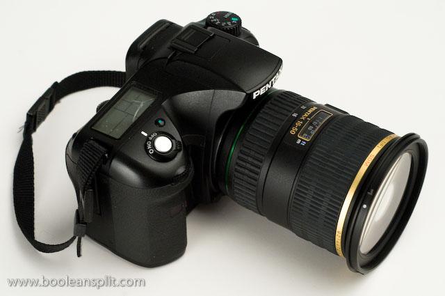 Pentax K10D + 16-50 f/2.8 DA*