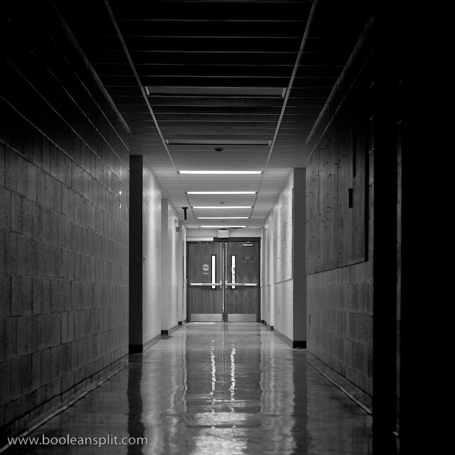 Wallace Center hallway