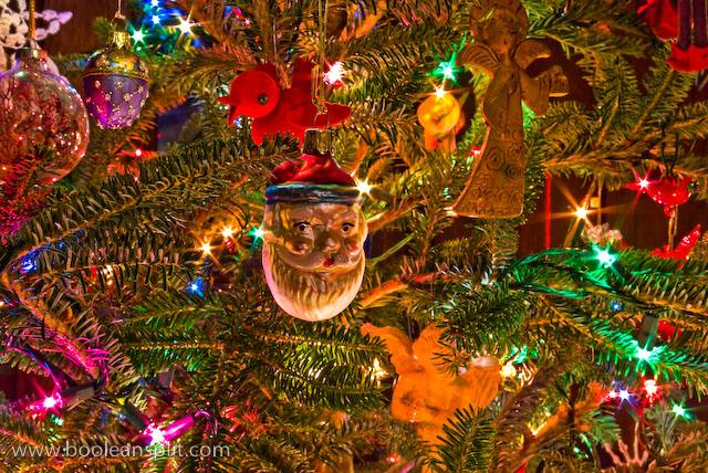 Christmas ornament detail