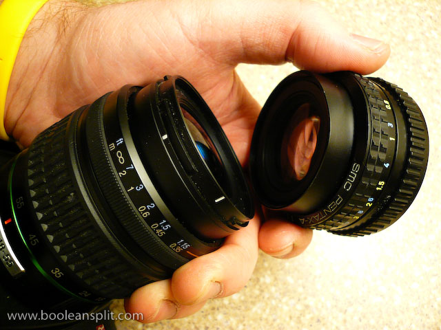 super macro lens assembly